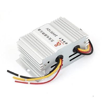 DC 24V to 12V 10A Power Supply Transformer Converter for Car