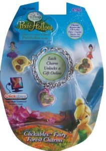 Disney Pixie Hollow Clickables Fairy Forest Charms