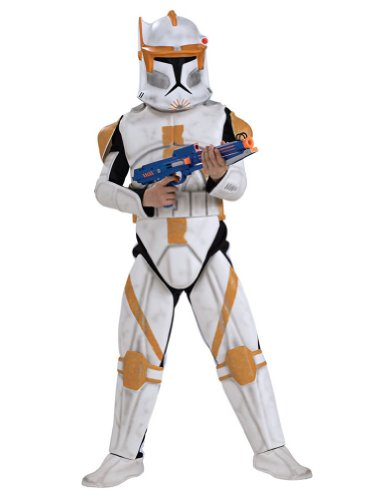 Clonetrooper Cody Deluxe Child Large Kids Boys Costume