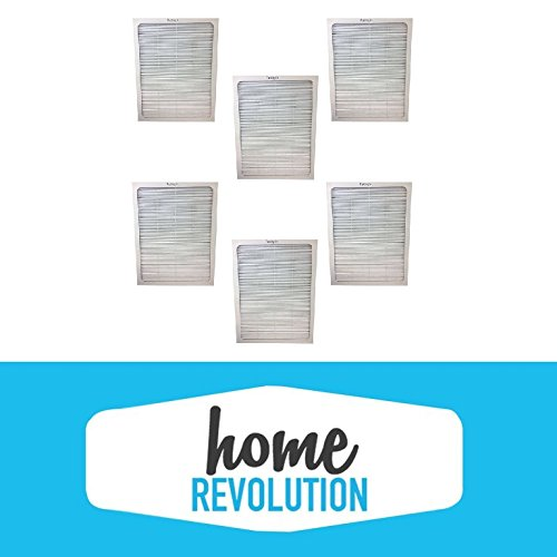 6 Blueair 500/600 Series Home Revolution Brand Air Purifier Filter; Fits Models; 501, 503, 550E, 601