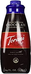 Torani Sugar Free  Chocolate Sauce, 64-Ounce
