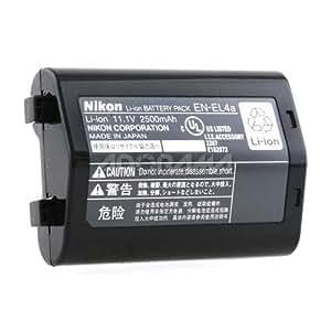 Nikon EN-EL4a Accumulateur Rechargeable au Li-Ion (2450 mAh) pour D3/D3x/MB-D10/PDK-1