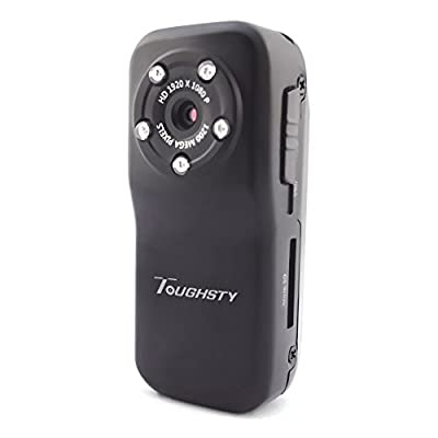 Toughsty™ 1920x1080P HD Mini Action DV Sports Camera Sound Activated Video Recorder Waterproof Camcorder IR Night Vision
