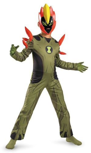 Costumes For All Occasions DG11543L Swampfire Ben 10 Costume 4-6