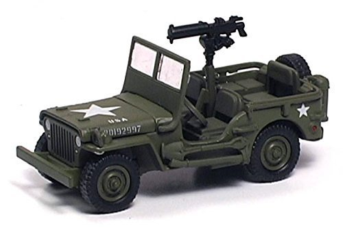 Playing Mantis Johnny Lightning Brigade WWII Willys MB Scout Jeep