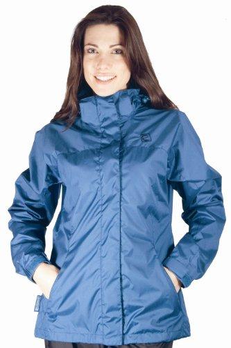 Women's Skye Water-resistant Jacket - Colour Navy Size 16