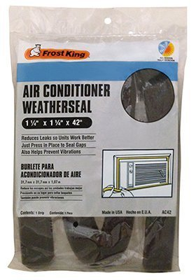 """1-1/4"""" X 1-1/4"""" X 42"""" Air Conditioner Foam Weatherseal by Th"""