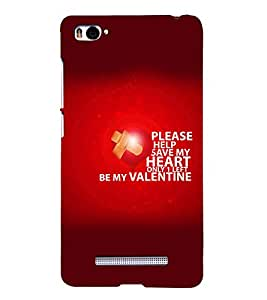 Save my Heart Back Case Cover for Xiaomi Redmi Mi4i::Xiaomi Mi 4i
