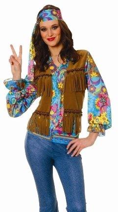 Hippie Girl Halloween Costume.Halloween Costumes Womens 60s 70s Outfit Hippie Girl Halloween Costume