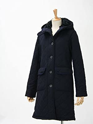 MACKINTOSH【マッキントッシュ】キルティングロングコートグランジ L/GRANGE/XB  XB03 wool NAVY(ネイビー)