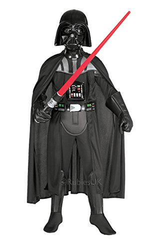 [Small Boy's Deluxe Darth Vader Costume] (Darth Vader Deluxe Kids Costumes)