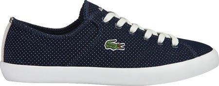 Lacoste Women's Ramer 116 1 Sneaker,Navy Textile,US 8 M