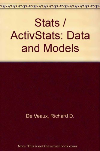Stats / ActivStats: Data and Models