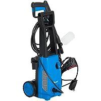 HomCom 1650 PSI 1.4 GPM Electric Pressure Washer w/ Detergent Bottle (Blue)