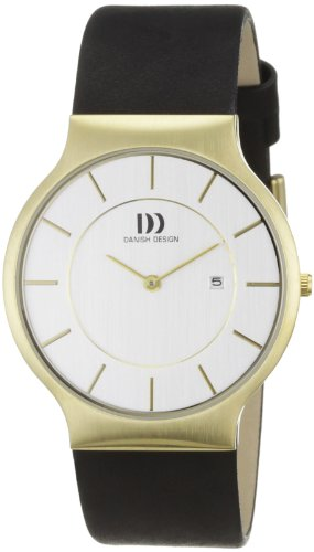 Danish Design Herren-Armbanduhr XL Analog Leder