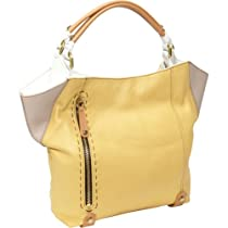 Hot Sale Oryany Handbags Aquarius AQ475 Shoulder Bag,Custard Multi,One Size