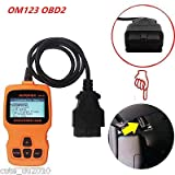 FidgetGear OM123 OBDII OBD2 EOBD Car Vehicle Code Reader Auto Diagnostic Scaner Reader Tool