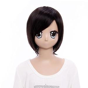 SureWells New Design Costume Wigs Black Cosplay Short Wigs Hetalia Honda Kiku Nice wigs Fabulous Wigs
