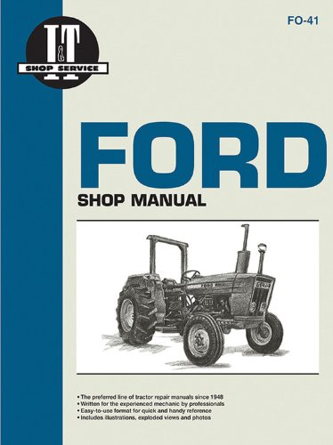 Ford Tractor 2600 Series : Ford shop manual series