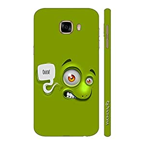 Enthopia Designer Hardshell Case Ouch Back Cover for Samsung Galaxy C5