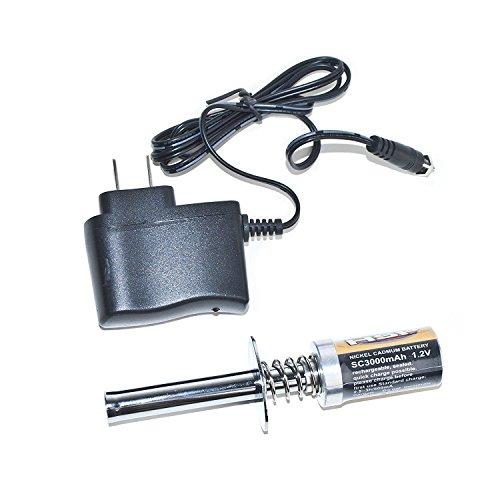 ALEKO RCC80101 Nitro RC Starter, GLO Starter With 3000 mAh Battery & Charger