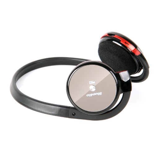Bluedio Dt120S Bluetooth Stereo Headphones Fm Radio Micro-Sd(32G) Music Streaming (Red)