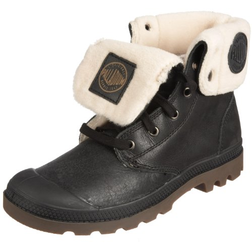 PALLADIUM Men's Baggy Leather S-m Black Pilot Walking Boot 02610-072-M 10 UK