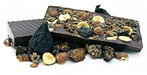 Windy City Organics Rawmio Organic Gourmet Raw Chocolate Bark Hazelnut & Fig -- 1.76 oz