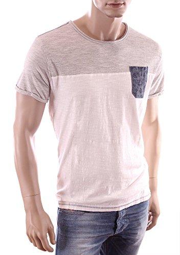 KAPORAL Maglietta a maniche corte, SATOS, da uomo bianco XL