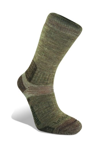 Bridgedale Socks Endurance Trekker Oatmeal - Men's Large 9 - 11.5 UK