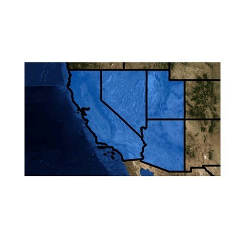 NAVICO Topo Insight HD, Southwest US, v14, MFG# 000-11273-001, High-Def Topo coverage for CA, NV, NM, and AZ. / LOW-000-11273-001 /