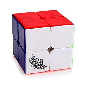 Formula Toys® Formula 2x2x2 3x3x3 4x4x4 Magic Cube Enhanced Version Set - Colorful