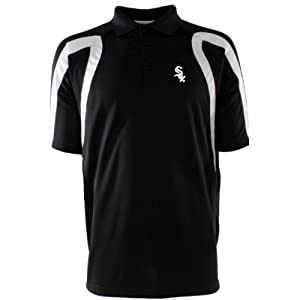 Chicago White Sox Point Polo Shirt (Team Color) by Antigua