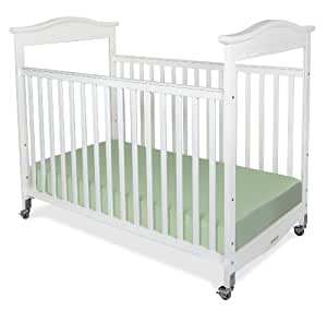 Foundations biltmore compact sized clearview for Baby bed with wheels