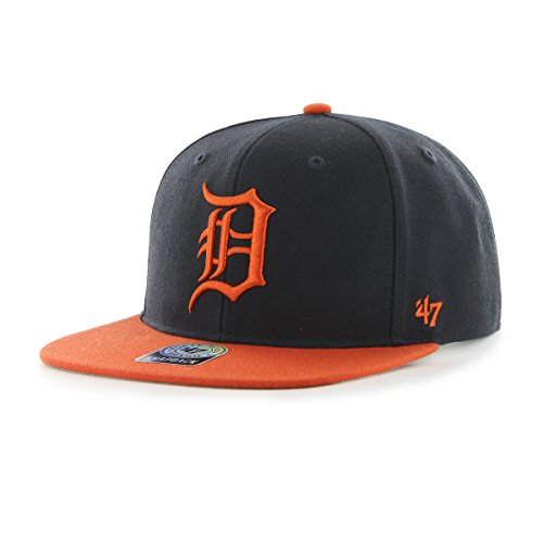 47-Brand-Detroit-Tigers-2-Tone-Sure-Shot-Snapback-MLB-Cap-Road