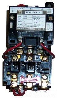 Square D Magnetic Motor Starter Nema Size 1 8536Sco3V02S Sqd 120V