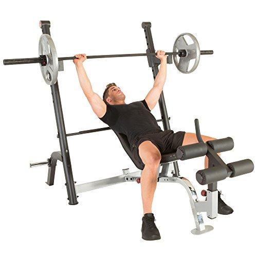 Ironman Triathlon X Class Olympic Weight Bench With Preacher Curl Leg Developer Attachment