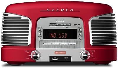 ティアック CD/USBサウンドシステム レッドTEAC SL-D920-R