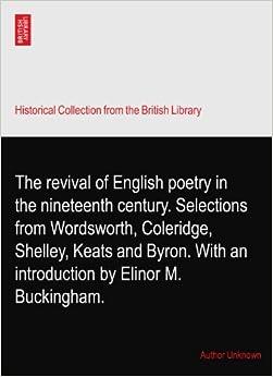 Coleridge, Keats and a Full Perception