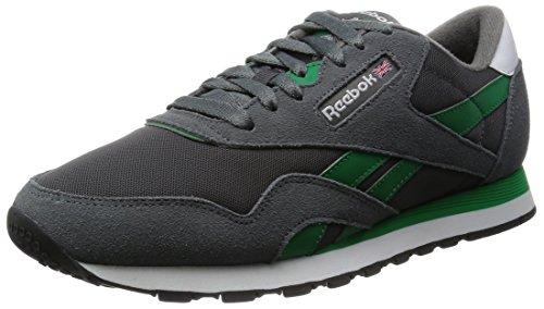 Reebok Uomo Classic Nylon scarpe da corsa multicolore Size: 43