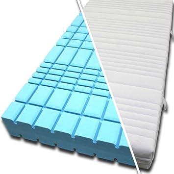 """3D Wurfel Kaltschaummatratze 7 Zonen RG 50 - H2 H3 """"RICHLUX® MDI"""" 120x190 Größe H3 (hart bis 125kg), Material Matratzenbezug PUROTEX"""