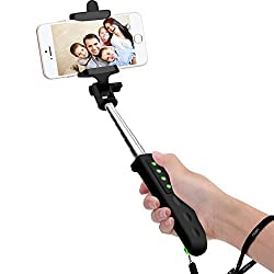 [2015 NEW RELEASE] Selfie Stick, NOOT PRODUCTS ' Ultra Compact Foldable Beettle Series 3-in-1 Self-Portrait Extendable Monopod Wireless Bluetooth Selfie Stick with built-in Bluetooth Remote Shutter with Adjustable Phone Holde