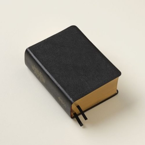 LDS Scriptures - Holy Bible, Book of Mormon, Doctrine and Covenants, Pearl of Great Price (Compact Quad) Black Bonded Leather (Lds Compact Quad compare prices)