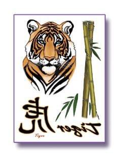 Mandala Arts Tiger Body Art Tattoos