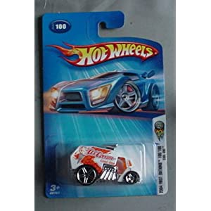 Hot Wheels 2004 First Edition Cool-One 100/100 100 WHITE 1:64 Scale
