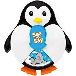 Fisher Price See 'N Say Junior Surprise Penguin - 1