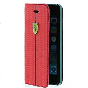 Ferrari Formula 1 Book Type Iph 5/5S Case - Red