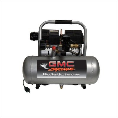 Syclone Ultra Quiet & Oil-Free Air Compressor Horse Power: 3/4 HP