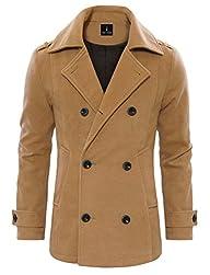 Tom's Ware Men's Stylish Wool Blend D…
