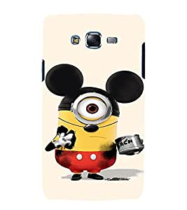 printtech Minions Mickey Mouse Back Case Cover for Samsung Galaxy J7 / Samsung Galaxy J7 J700F